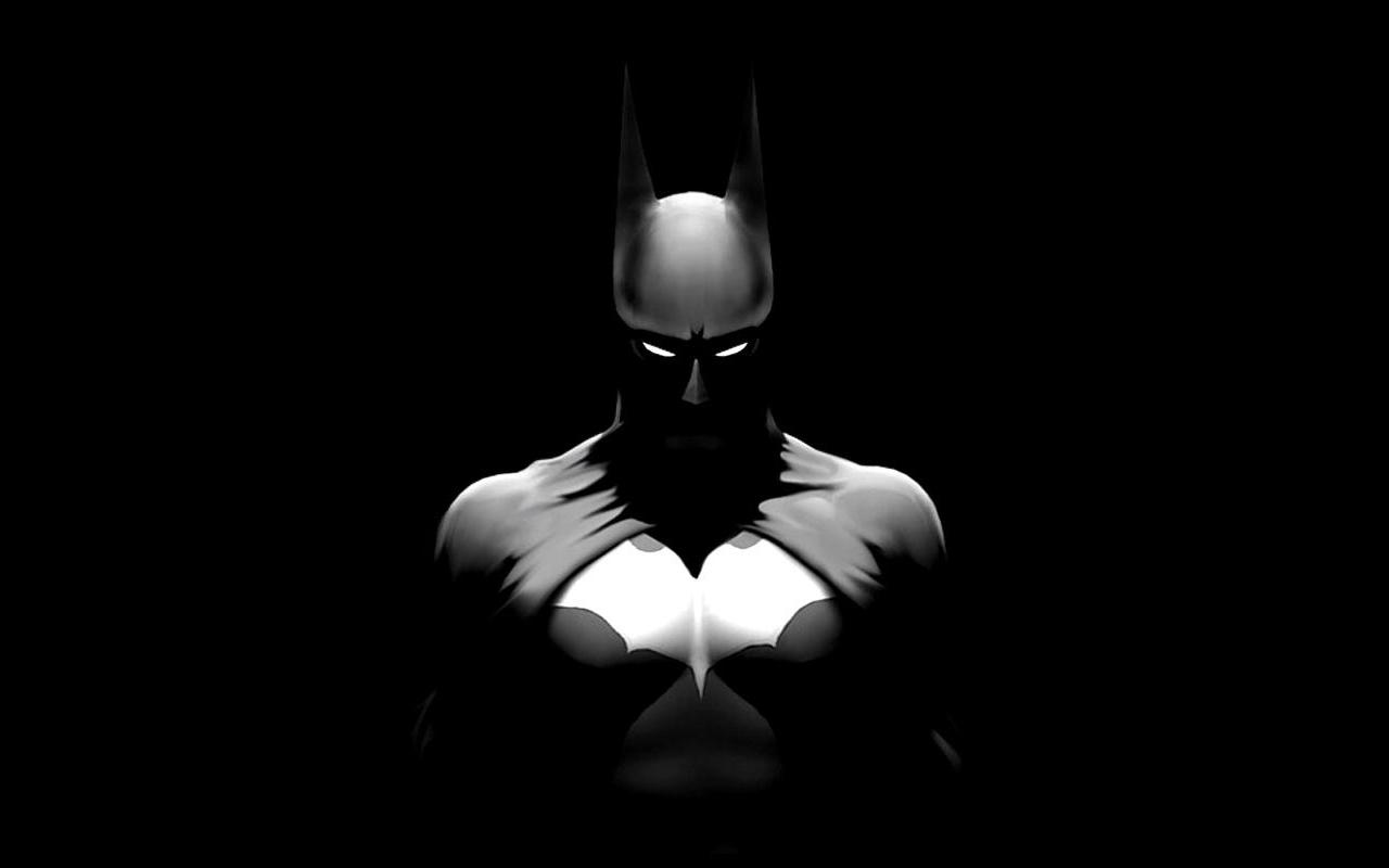 zwart witte batman achtergrond batman is een echte stripheld batman 1280x800