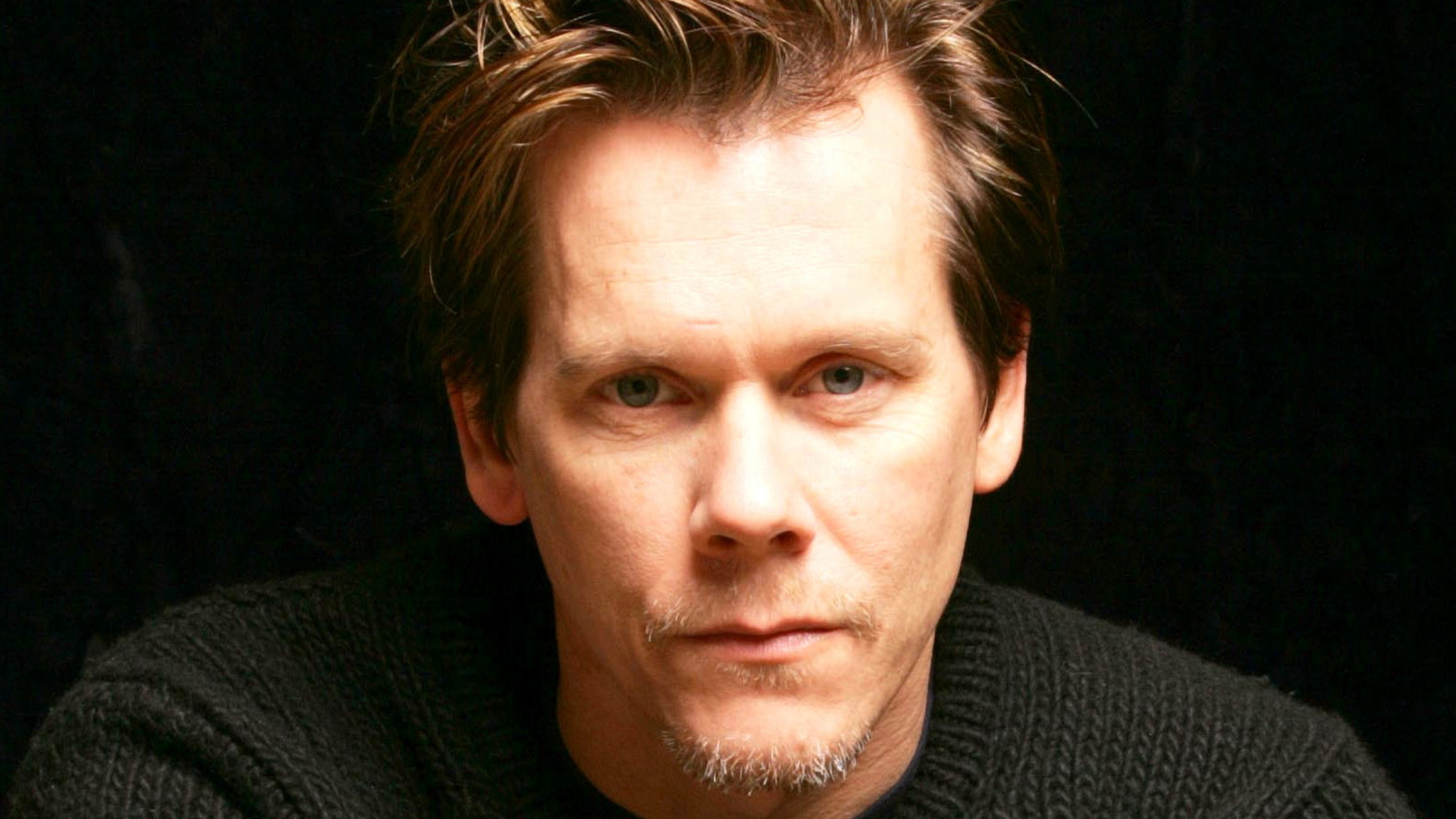 Download Wallpaper 3840x2160 Kevin bacon Man Eyes Hair 3840x2160