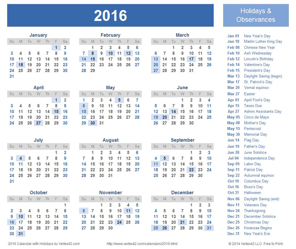 Muslim Calendar 2016 Islamic Calendar 2016 1032x868