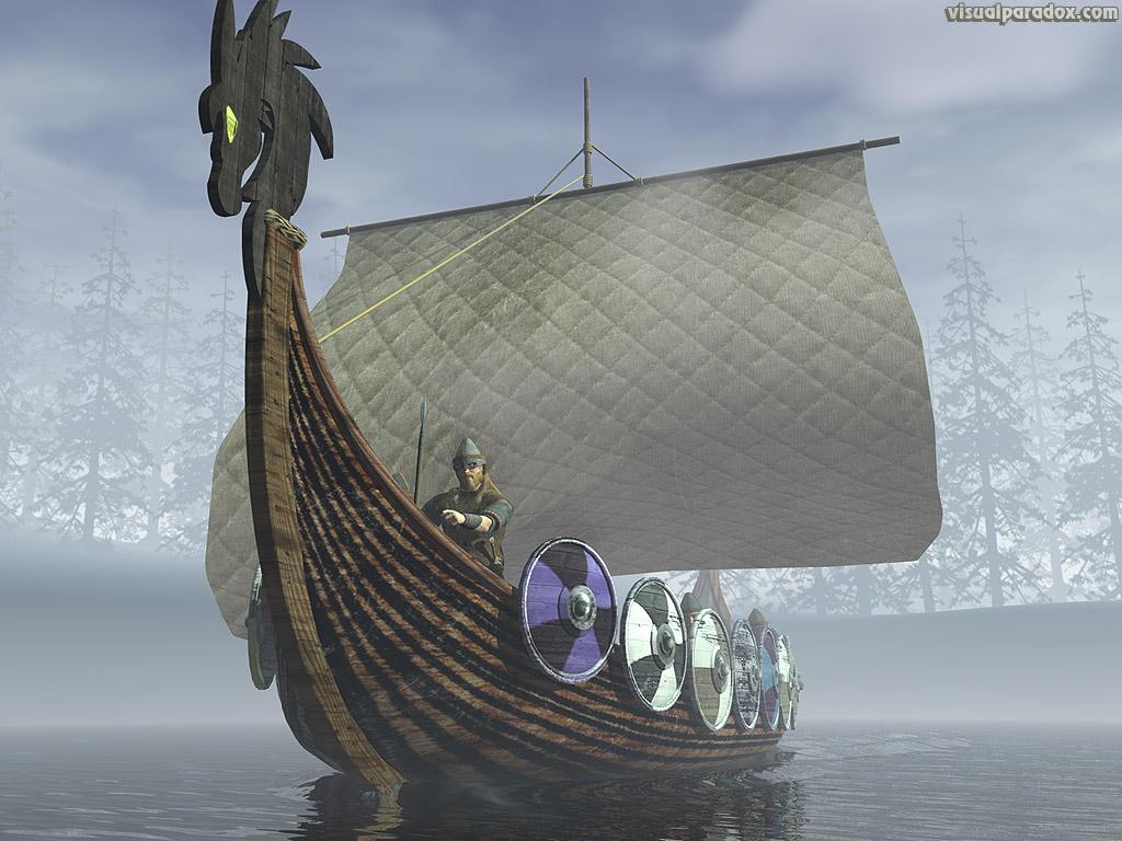 Viking Ship 1024x768