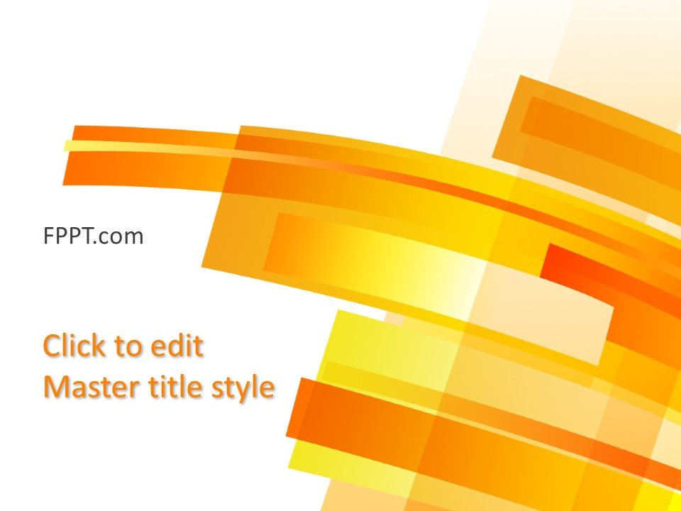 Free Download Background Yellow Powerpoint Template
