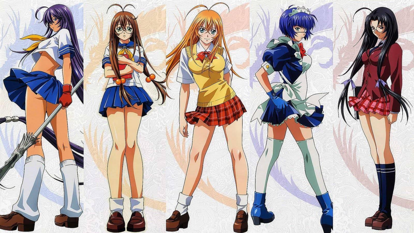 Super powerful girls   Ikkitousen Wallpaper 1600x900