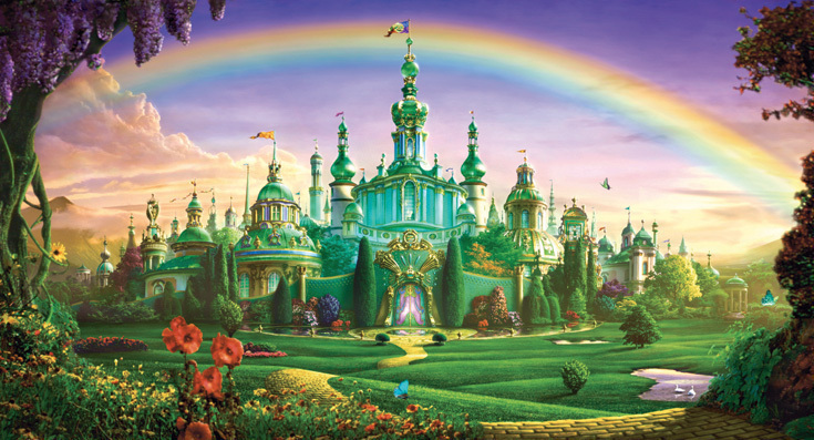 The Wizard of Oz images The Emerald City wallpaper photos 7448482 735x397