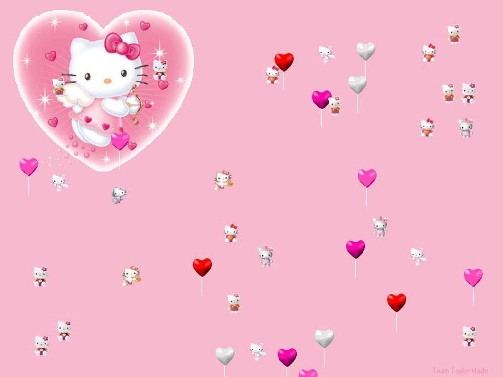 Hellow Kitty Backgrounds 81 1024x768