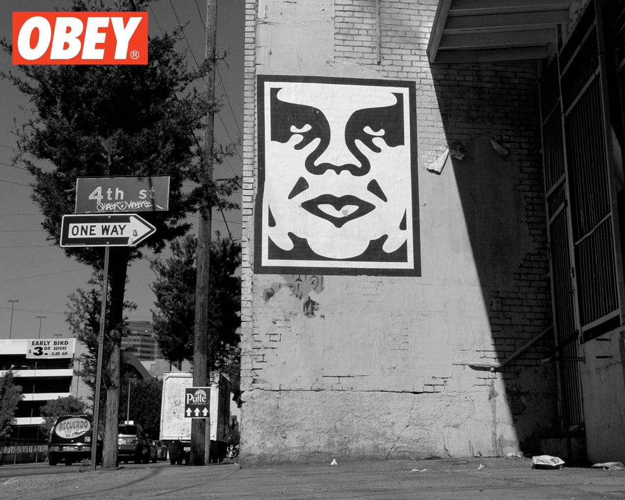 Shepard Fairey OBEY julienbrandts 1280x1024