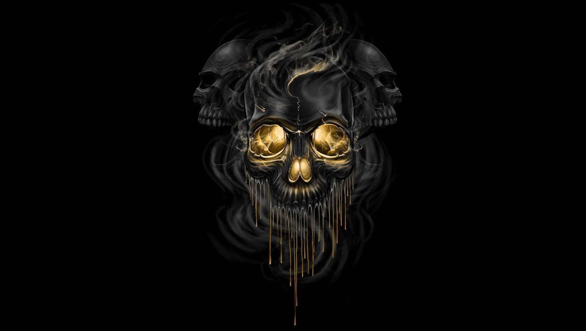Black Metal Death Paint