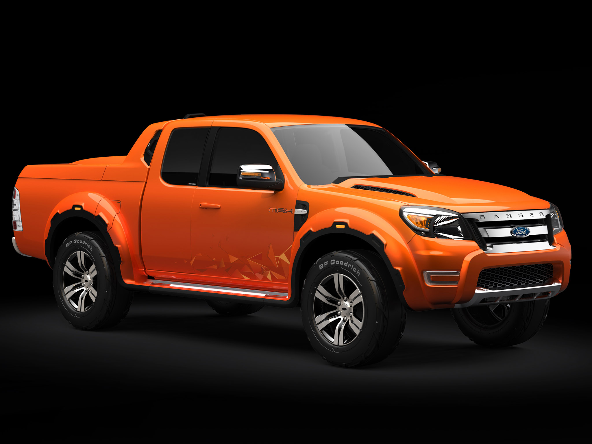 2008 Ford Ranger Max Concept truck 4x4 f wallpaper background 2048x1536