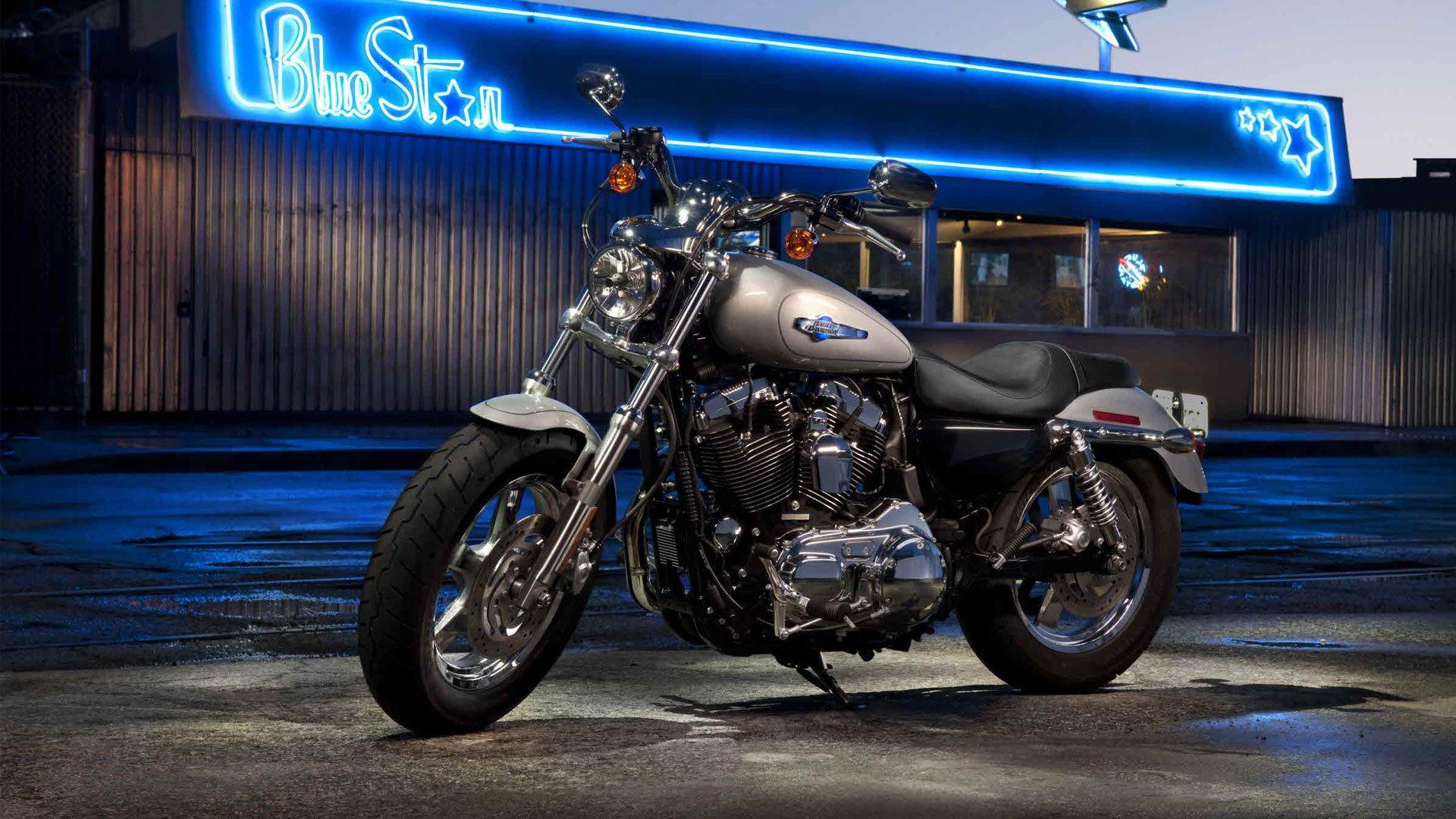 2012 Harley Davidson Sportster 1200 Custom wallpaper   981561 1920x1080