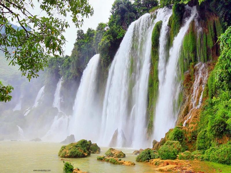 [50+] Free Screensavers Wallpapers Of Waterfalls On