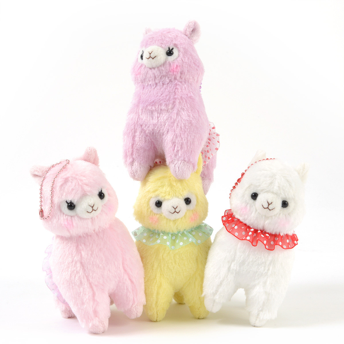 Alpacasso Furi Furi Alpaca Plush Collection Ball Chain Tokyo 1200x1200