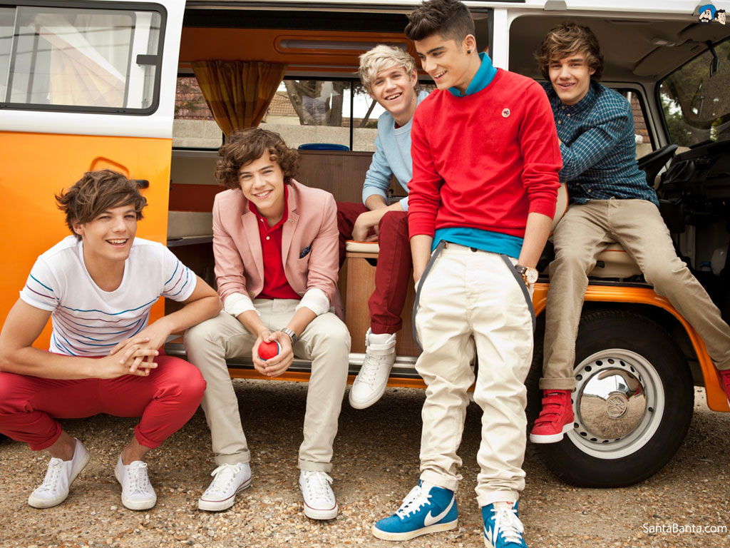 One Direction 1024x768
