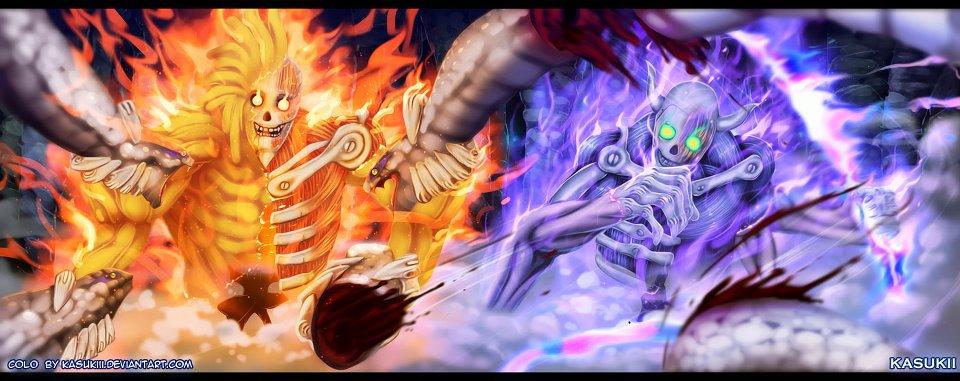 Naruto Susanoo Wallpaper - WallpaperSafari Kakashi Full Power