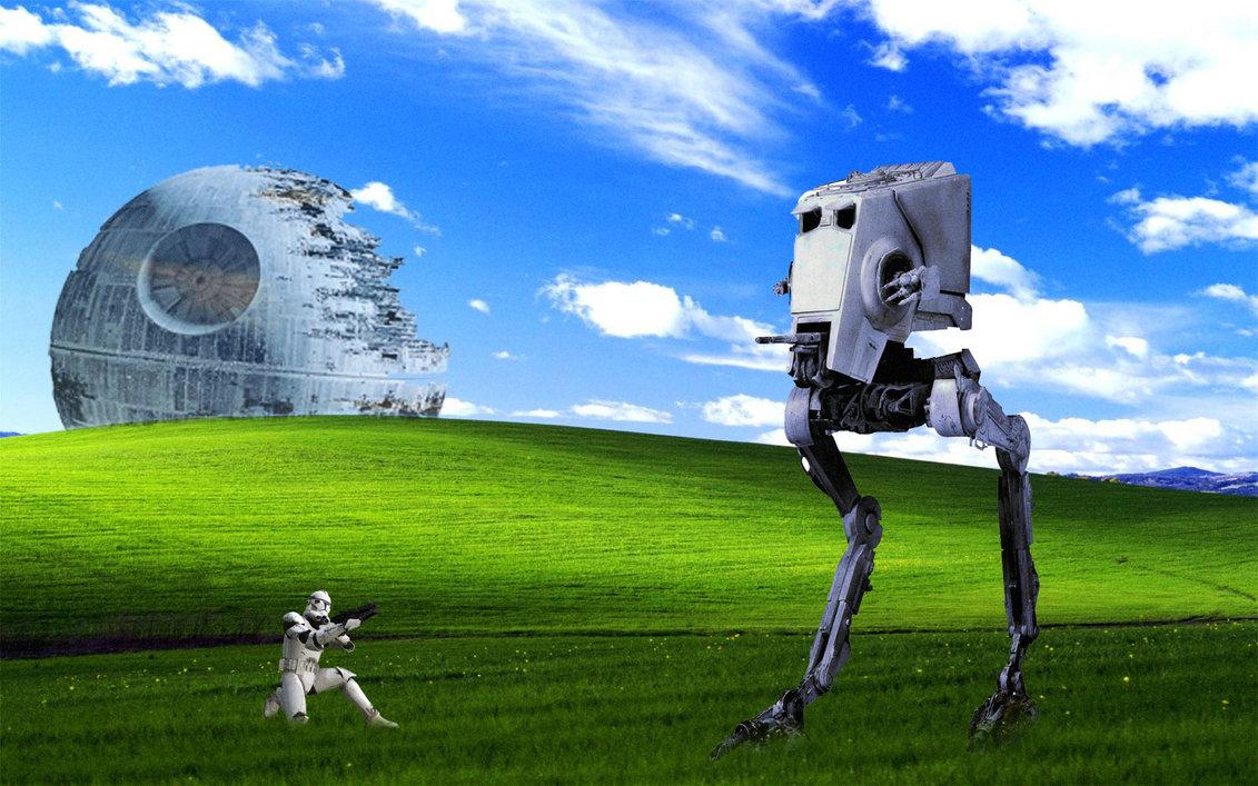 Star Wars Windows XP Classic Wallpaper by DiegoSkywallker on 1131x707