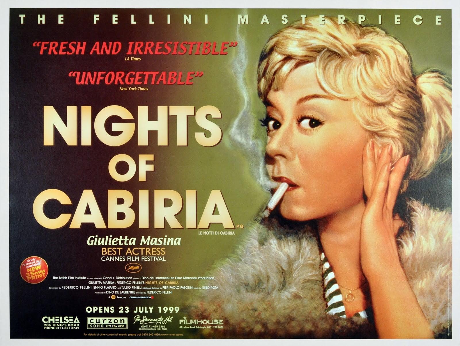 Nights of Cabiria album case Film posters Nights of Cabiria 1600x1202