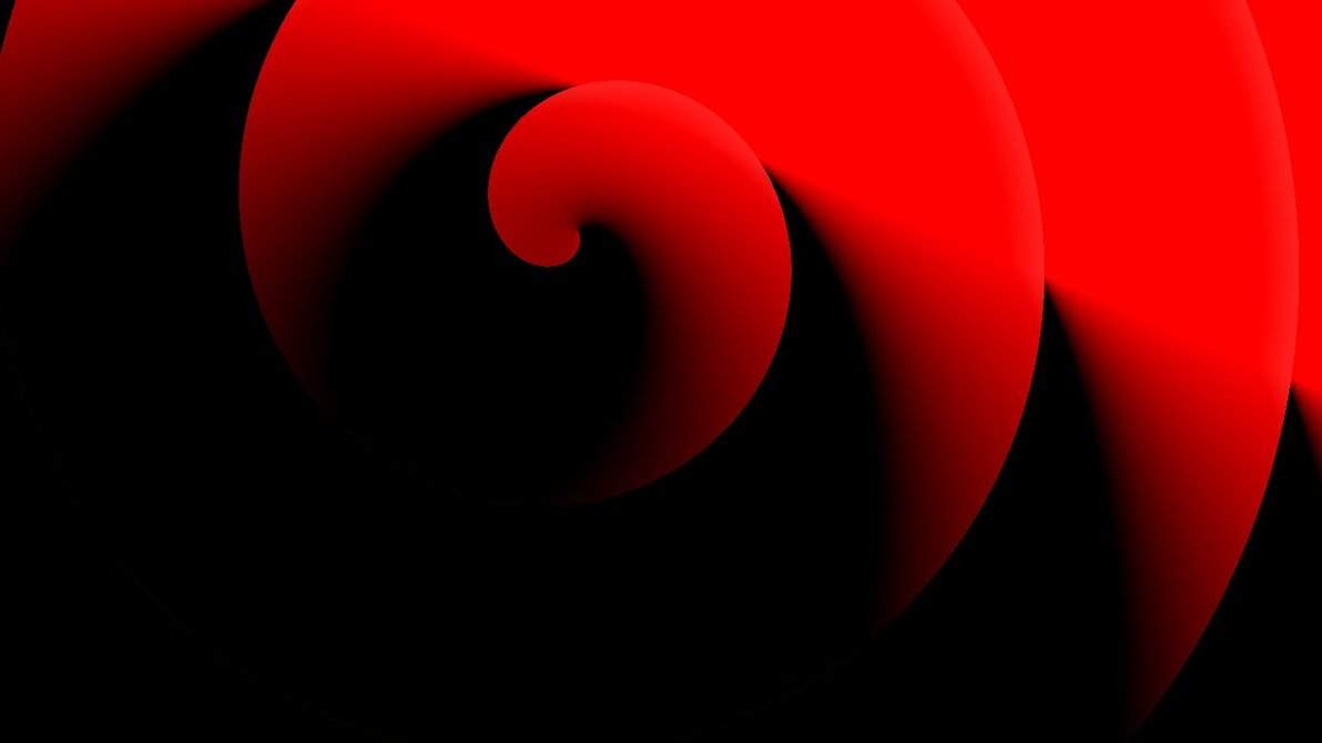 fiery red black circles wallpaper black and white fiery circles 1192x670