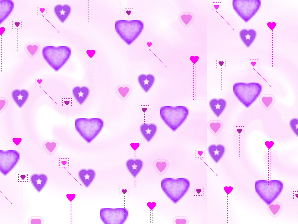 Group Of Wallpapers Cute Purple Heart