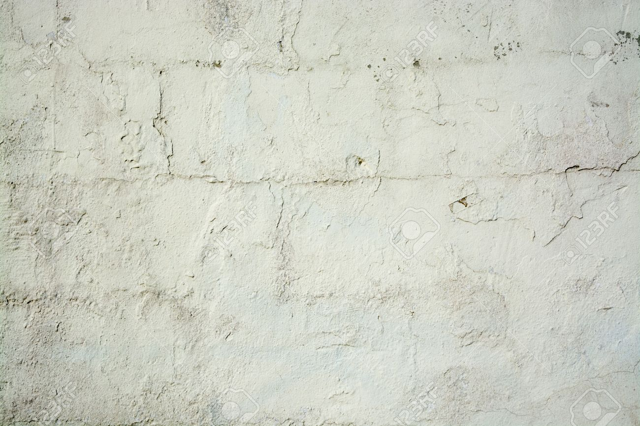 White Washed Weathered Wall Vintage Background Stock Photo 1300x866