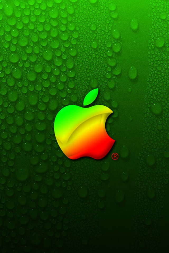Classic apple logo iPhone Wallpapers iPhone 5s4s3G Wallpapers 640x960