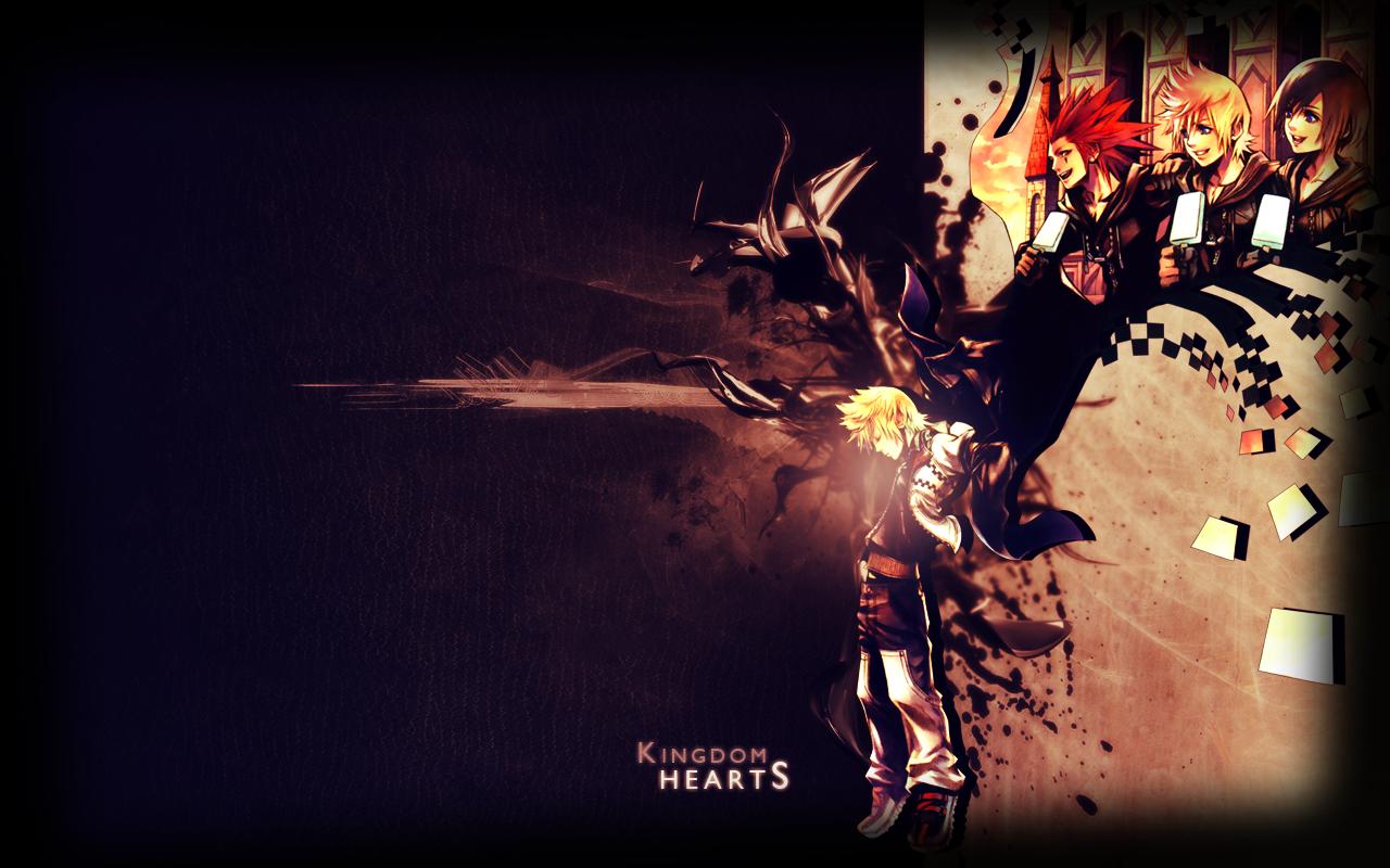 Axel Kingdom Hearts Wallpaper Wallpapersafari