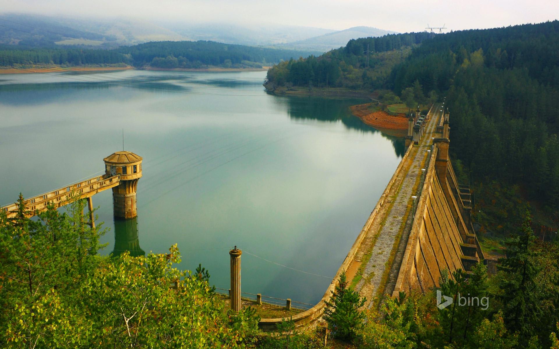 Studena Dam Struma River Bulgaria Ivan Pendjakovage 1920x1200