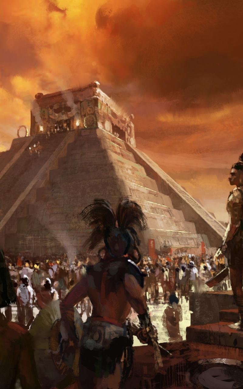 [46+] Aztec Artwork Tab Wallpaper on WallpaperSafari