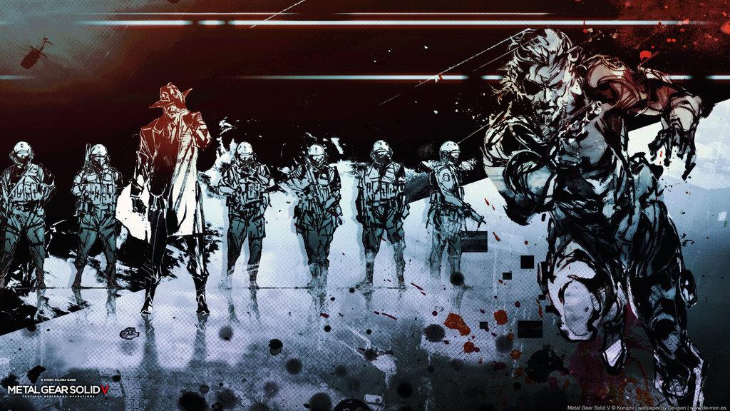 Metal Gear Solid Ground Zeroes Video Game 4k Hd Desktop: Metal Gear Solid V Wallpapers