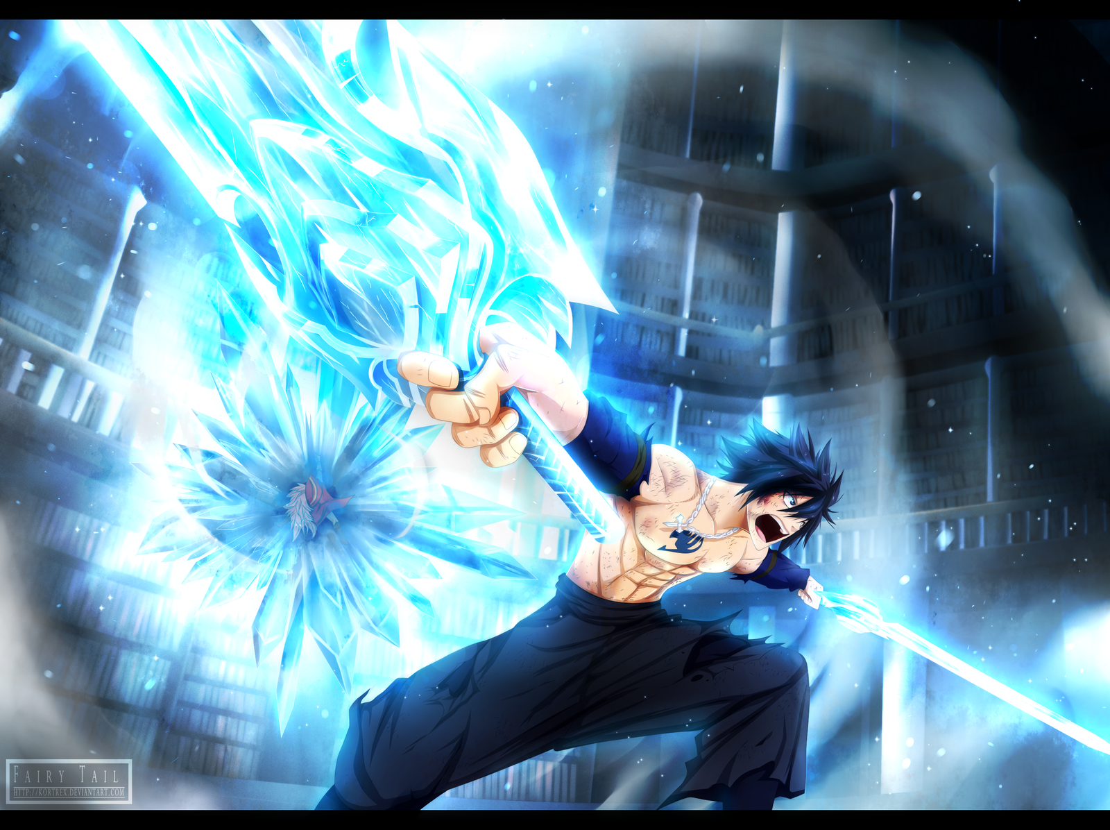 Fairy Tail chapter 306   Ice Bringer by Kortrex 1600x1196