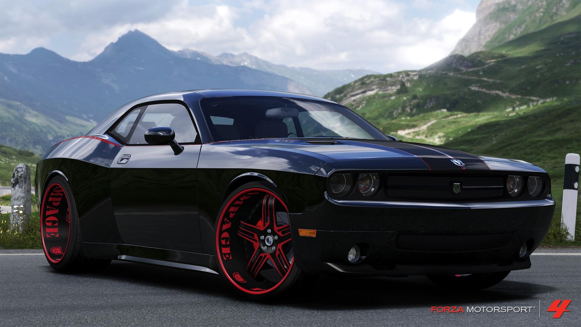 Black Dodge Challenger SRT8 Wallpaper is a hi res Wallpaper 1920x1080