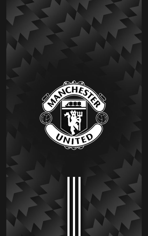 Manchester United 20172018 Away Black Android Wallpaper soccer 564x902