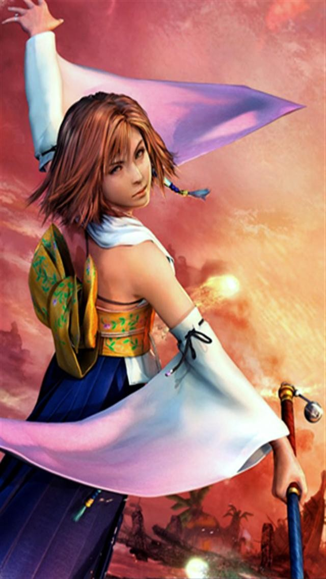 Final Fantasy Girl 5 HD iPhone Wallpapers iPhone 5s4s3G 640x1136