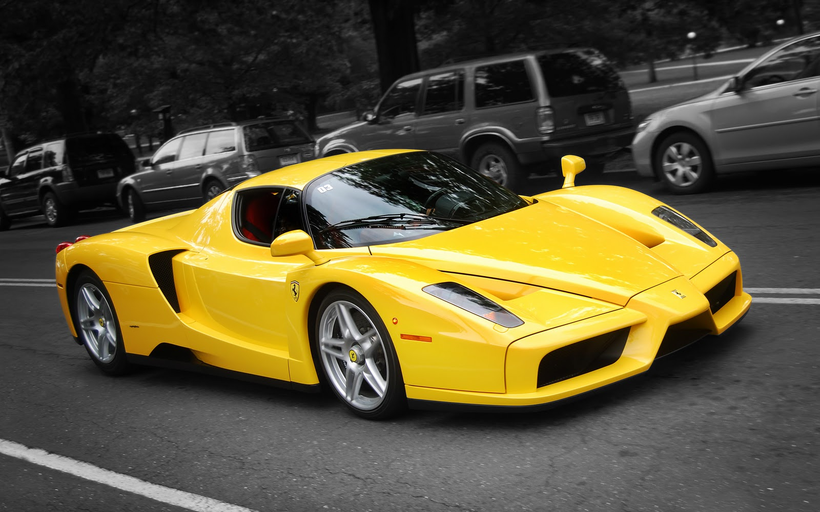Yellow Ferrari Enzo 2012 supercars wallpapers The Wallpaper Database 1600x1000
