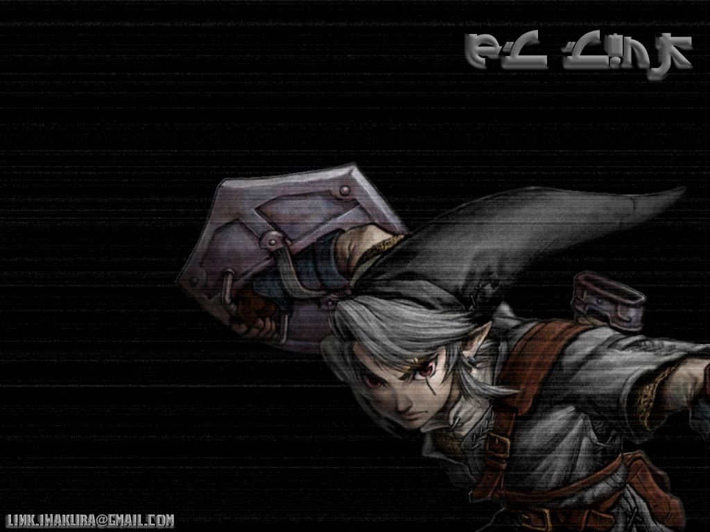 Link Vs Shadow Link Wallpaper Shadow link   dark link wall 1024x768