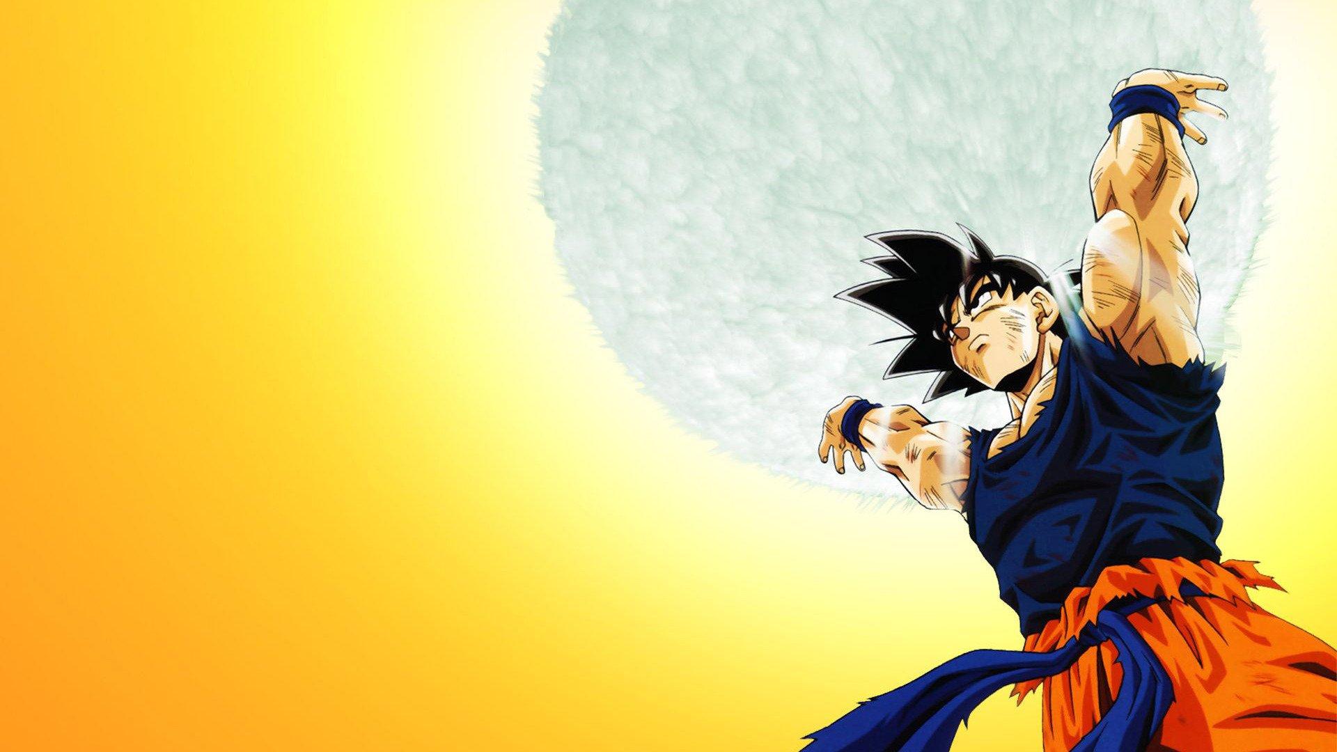 Dragon Ball Z Goku Wallpaper  WallpaperSafari