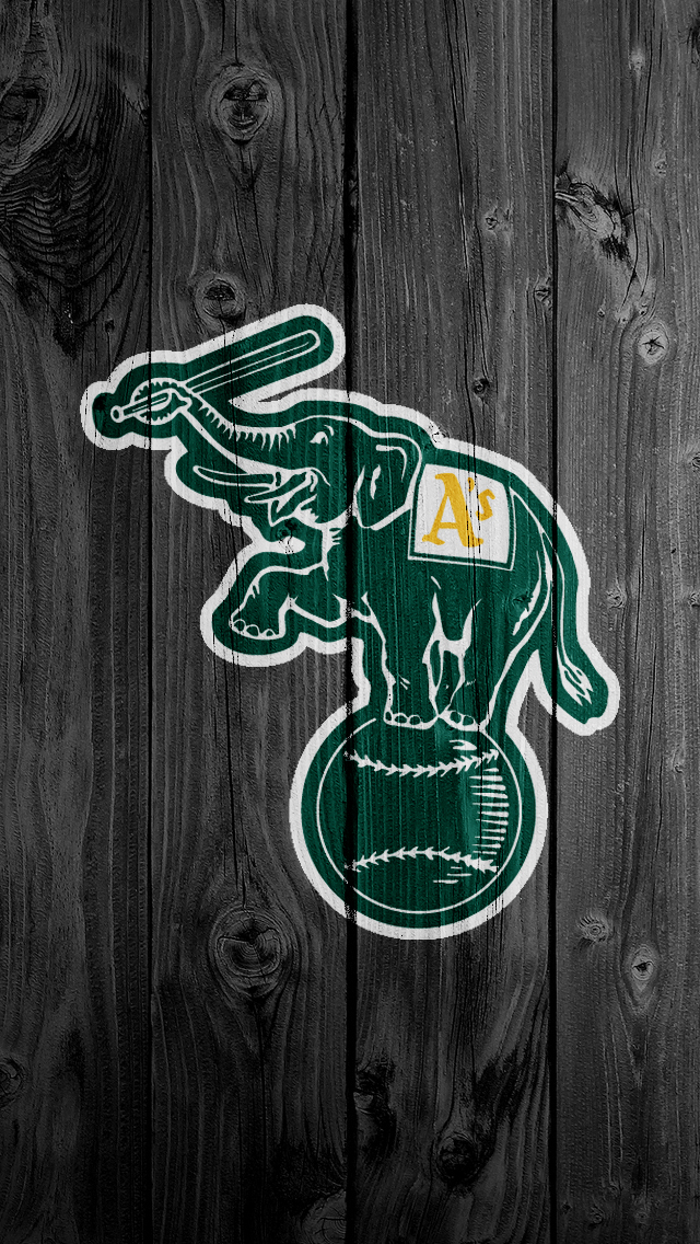Oakland Athletics Desktop Wallpaper 640x1136