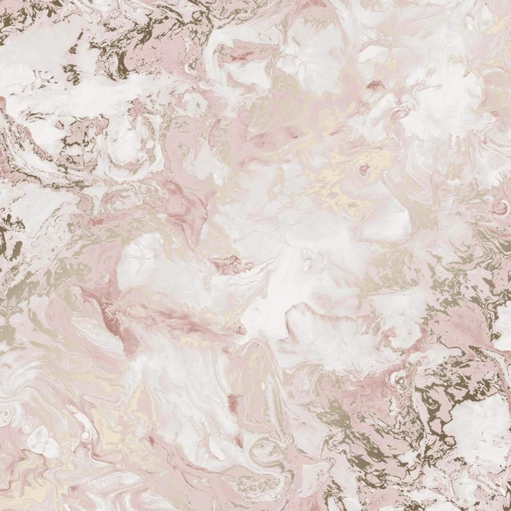 Liquid Marble Wallpaper Pink Gold I Love Wallpaper 1000x1000