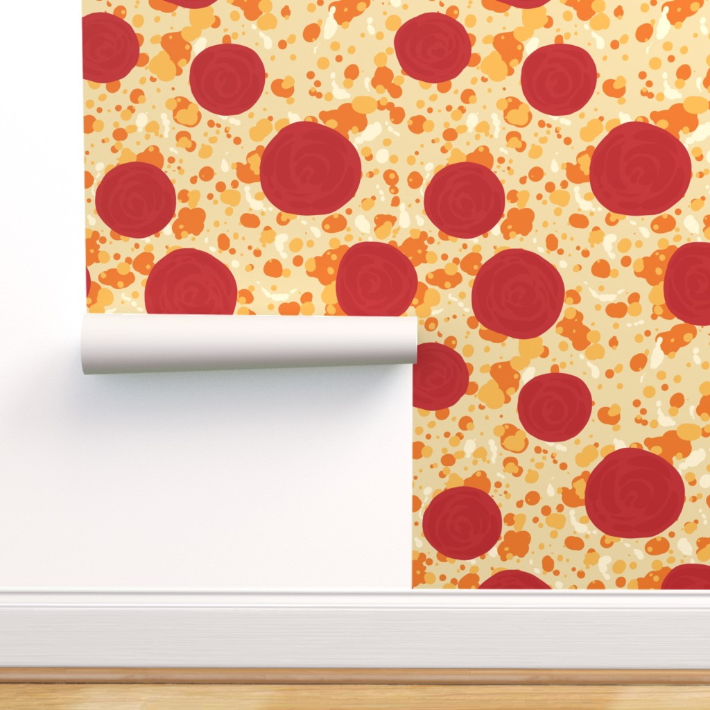 Pepperoni Pizza on Isobar by rosalarian Roostery Home Decor 1024x1024