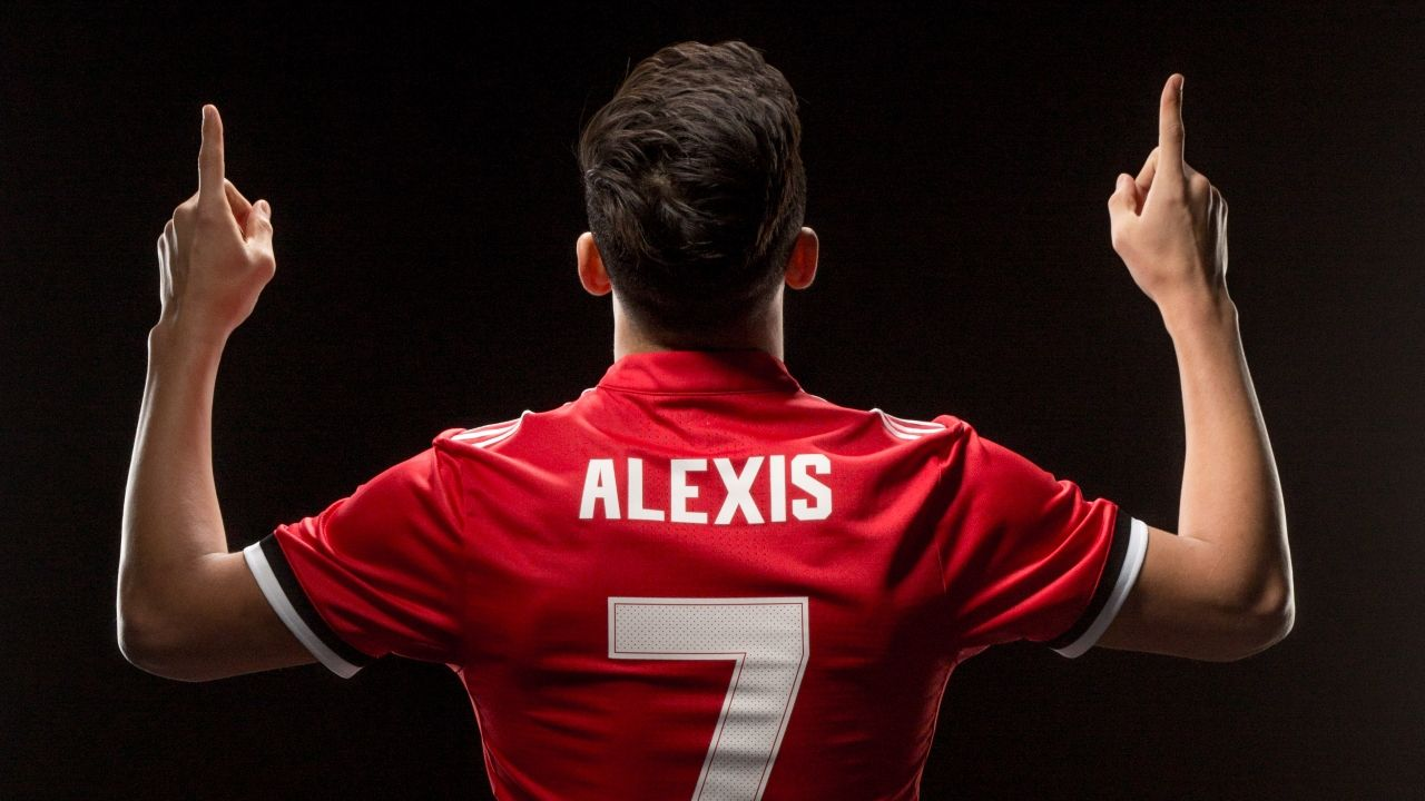 2018 Best Alexis Sanchez Manchester United Wallpaper Background 1280x720