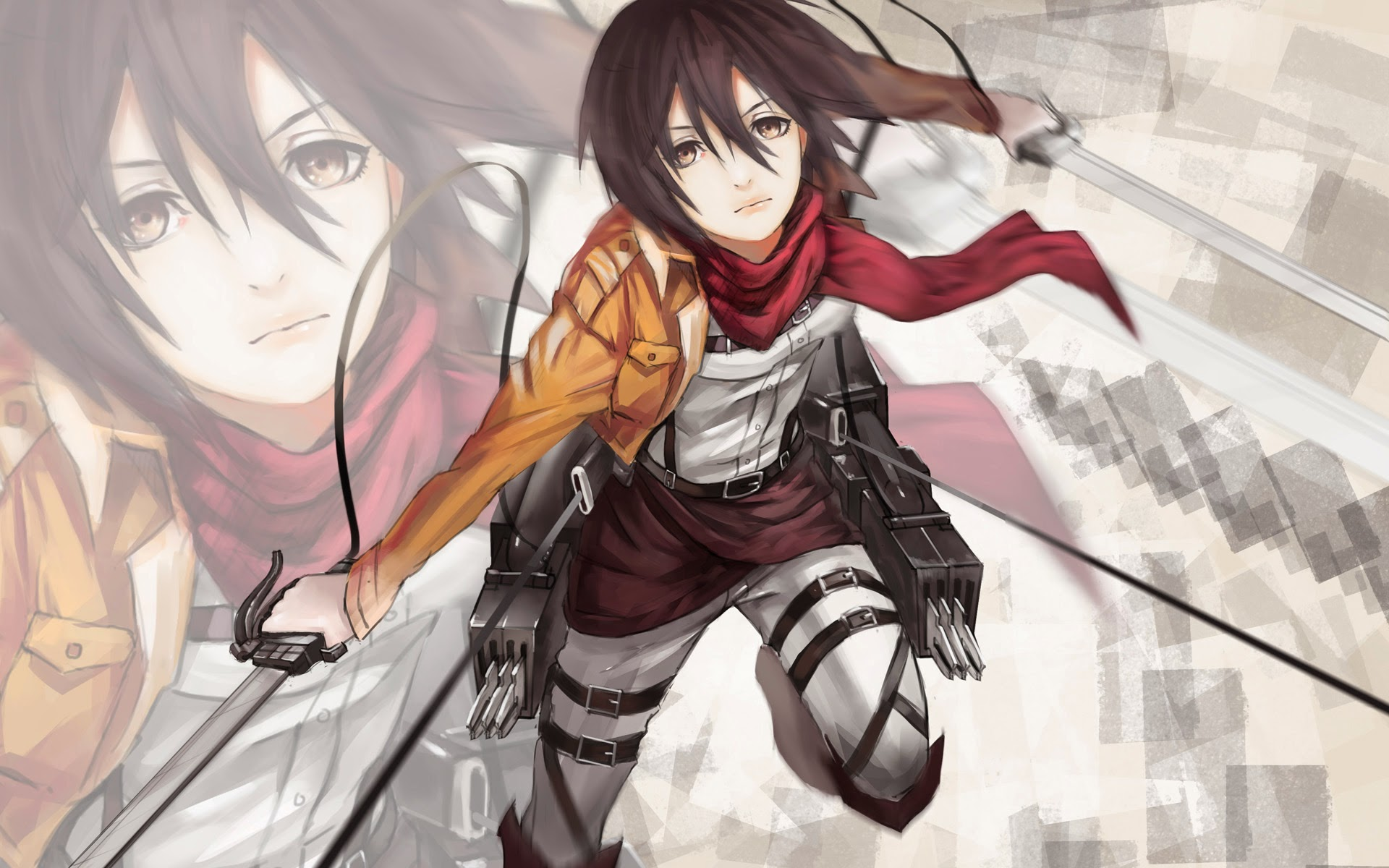 Free Download Attack On Titan Mikasa Anime 9b Wallpaper Hd