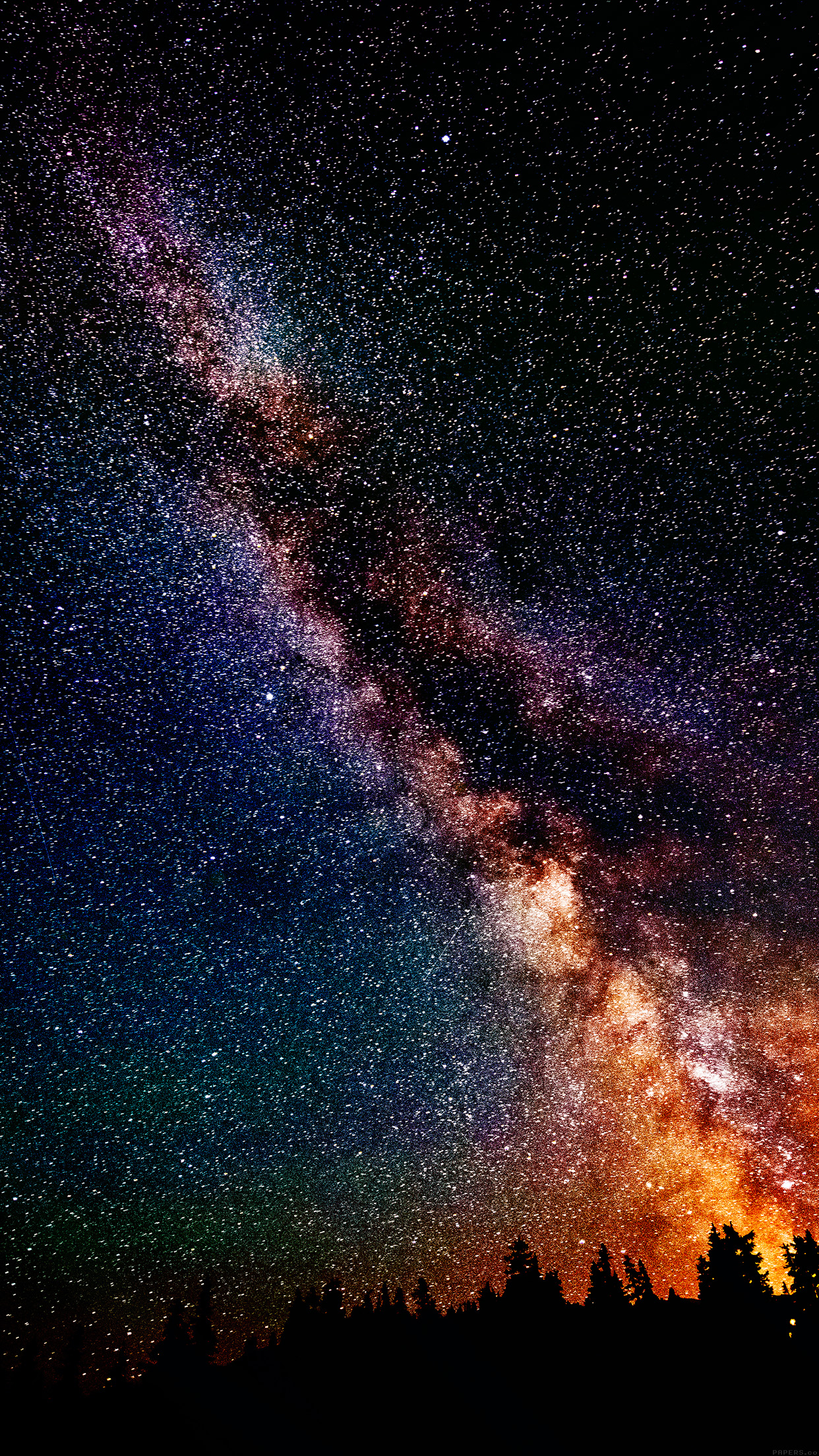 Free Download Wallpapers Of The Week Galaxy Stars 1242x2208