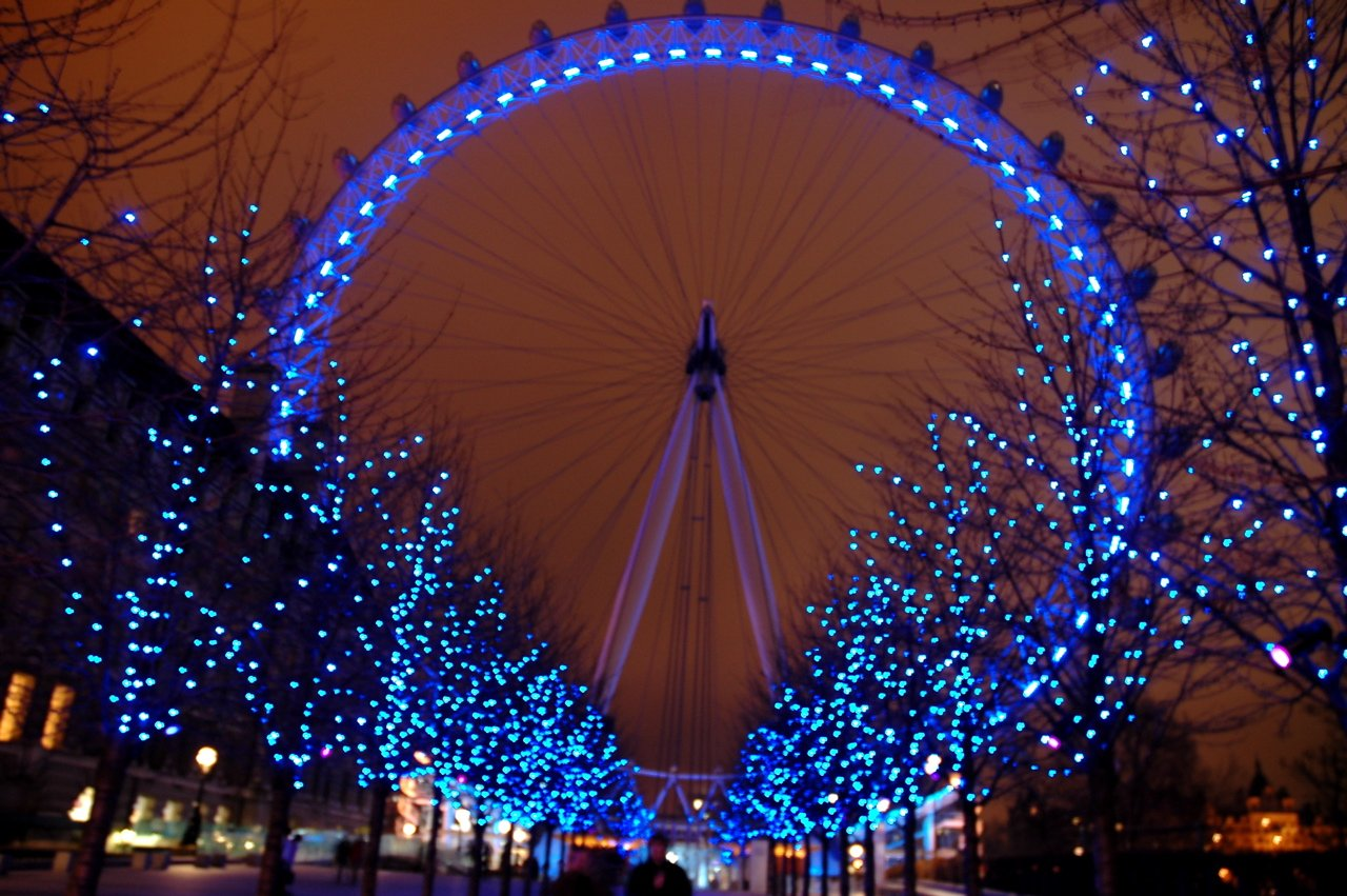 Christmas London Eye 1280x851