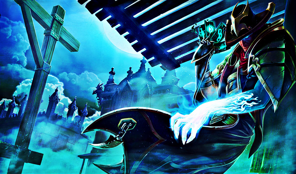 League of Legends Underworld Twisted Fate by DoeCry 1024x604
