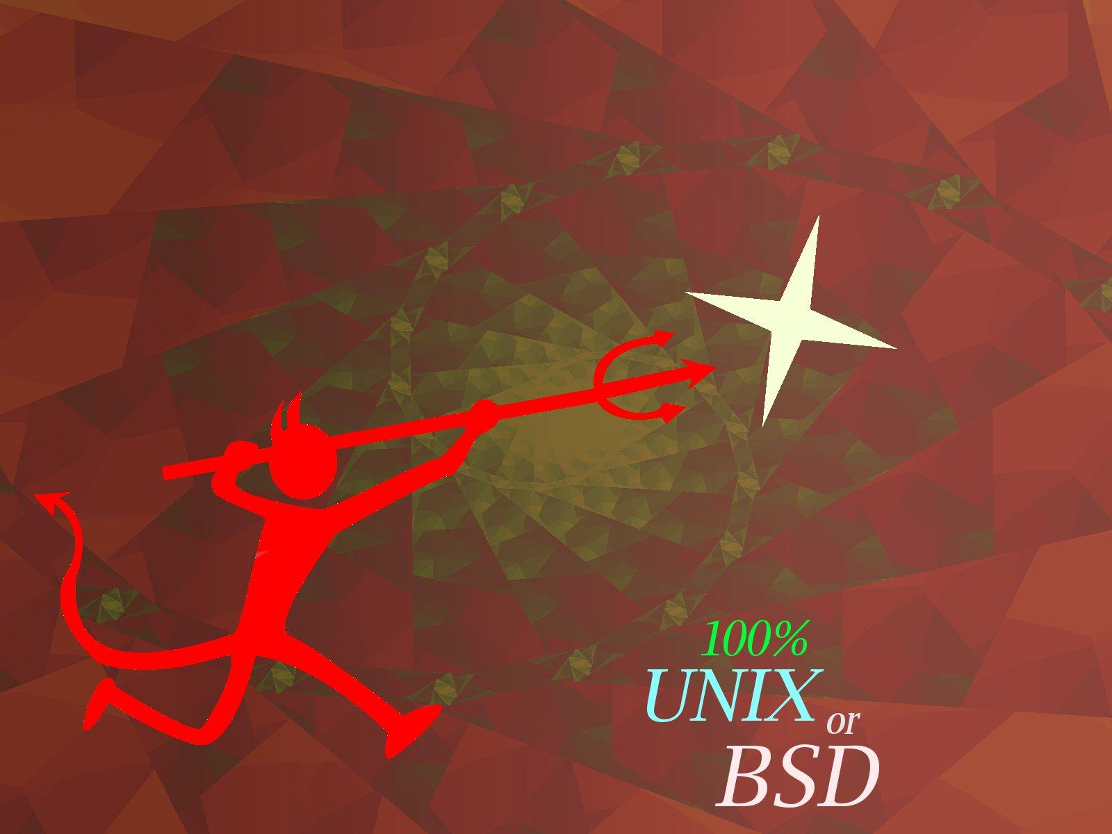 BSD Wallpaper by GaussianCat 1600x1200