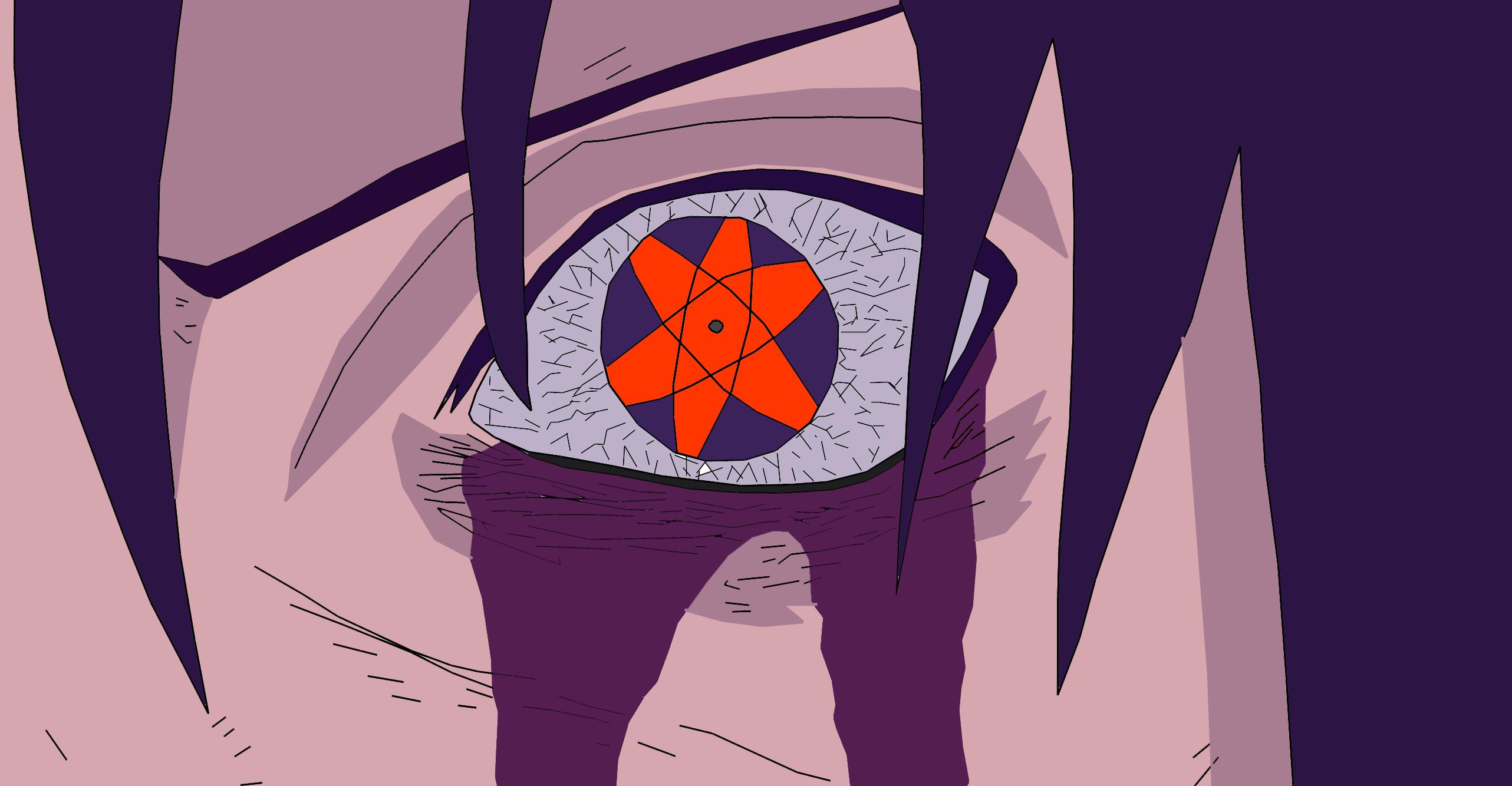 Sasuke Uchiha Mangekyou Sharingan By Nachomaan 2565x1334