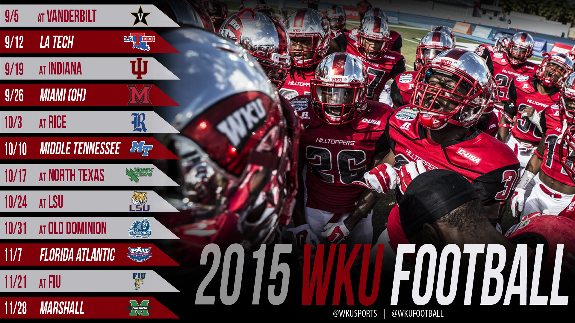 Hilltoppers Announce 2015 Football Schedule and Season Ticket Plans 1920x1080