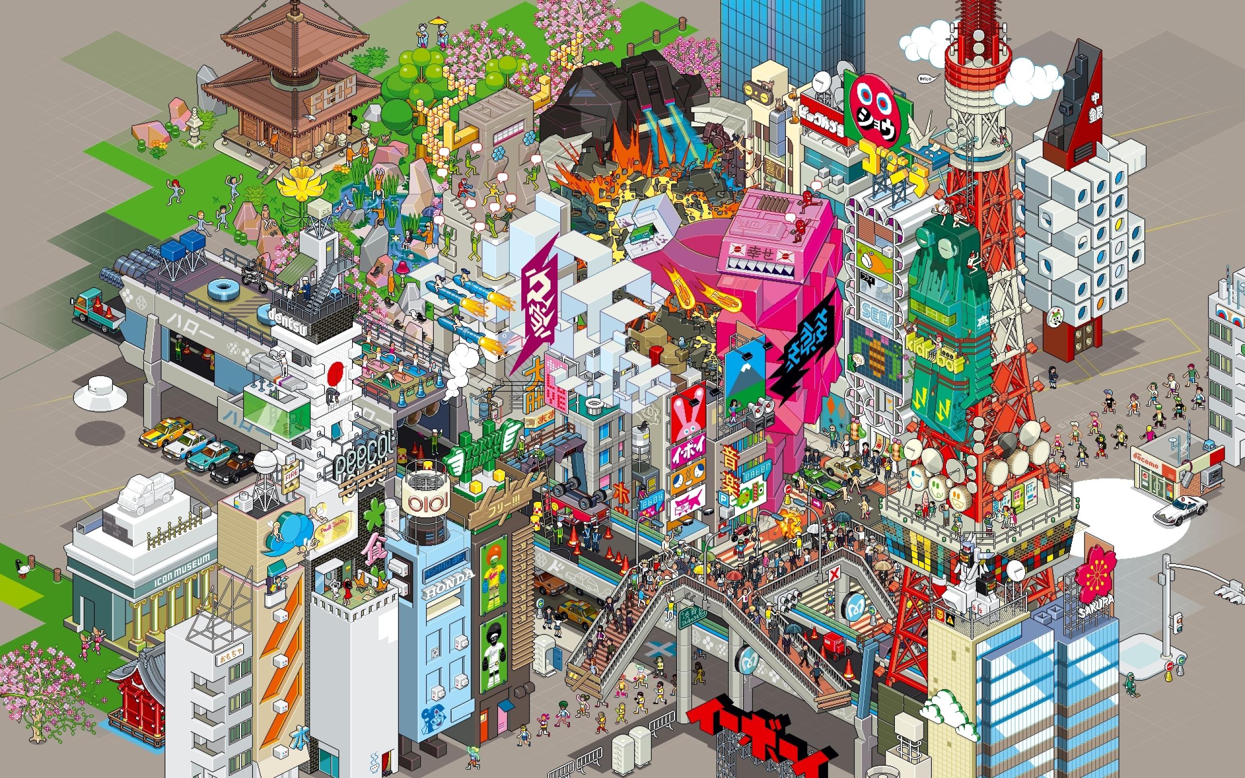 48 Pixel Art Wallpapers On Wallpapersafari