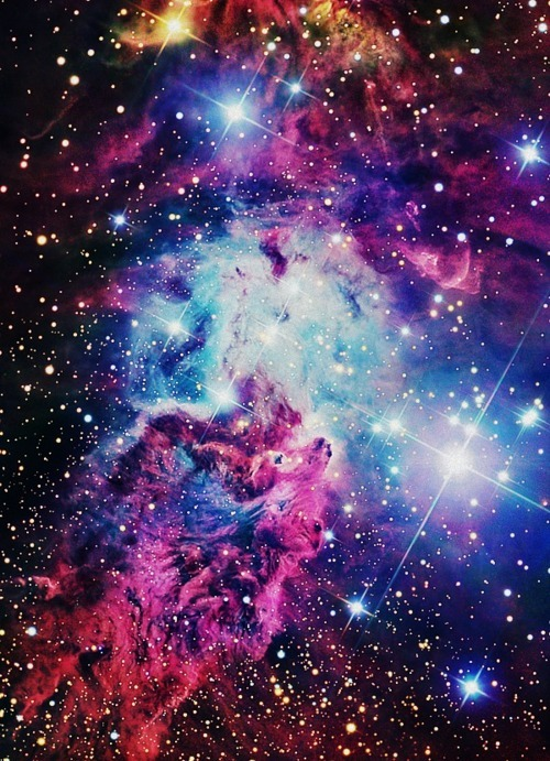 Hipster Galaxy Background 500x691
