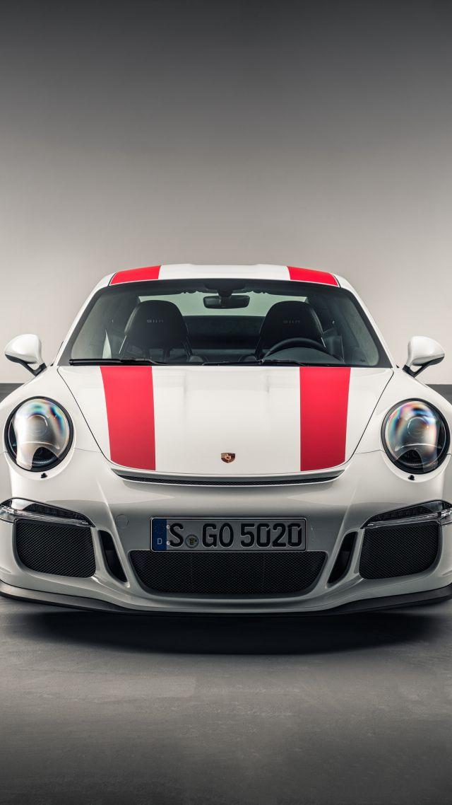 Wallpaper Porsche 911 R 991 Geneva Auto Show 2016 640x1138