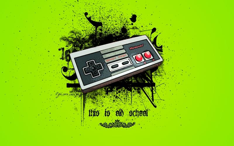 Nintendoold school nintendo old school 1440x900 wallpaper 800x500