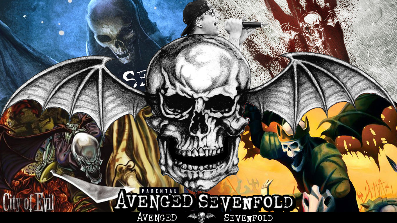 Wallpaper A7X by DemoskOmicron 1366x768