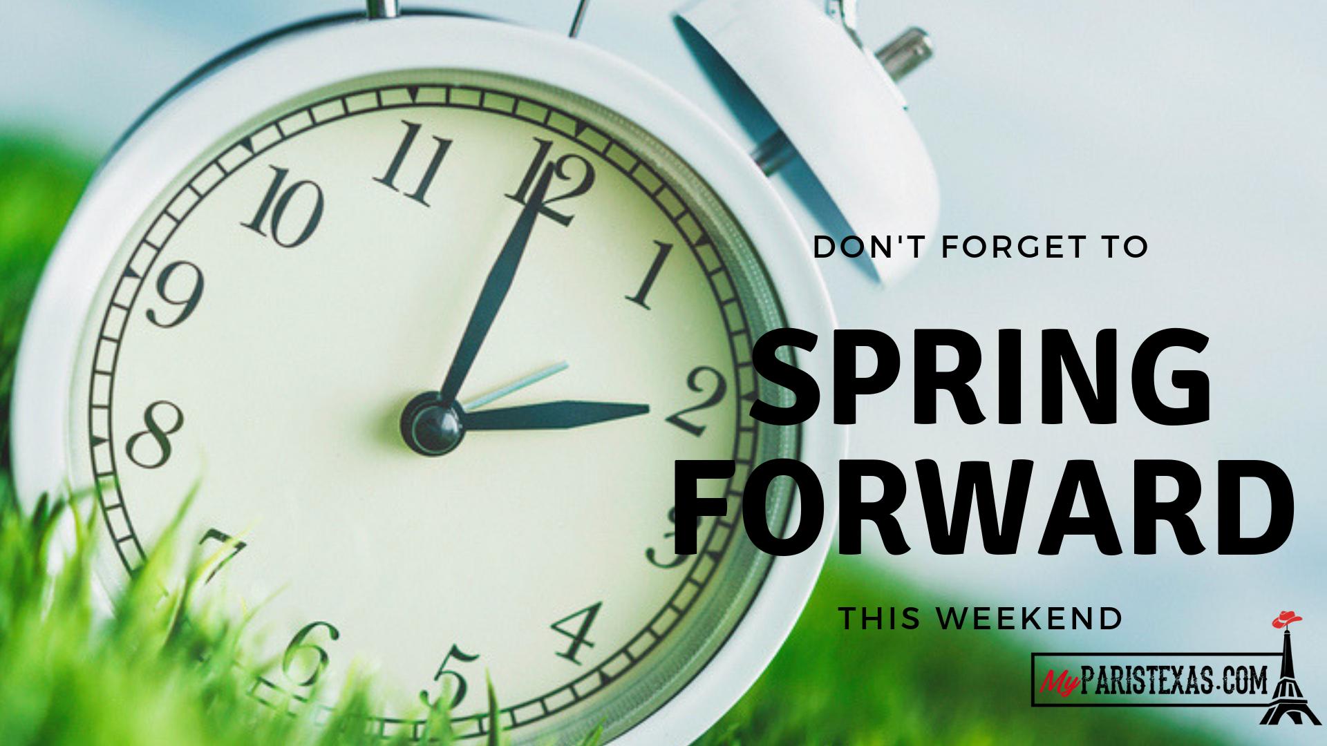 Daylight saving time 2019 Get ready to spring forward   MyParisTexas 1920x1080